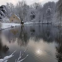 Gite sous la neige